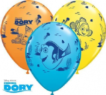 Finding Dory Balloons (6pcs) - 11 Inch Balloons